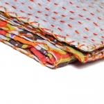 "Taj Hotel Kantha Cotton Throw 50"" X 70"" - 327"