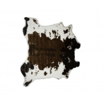Luxe Faux Fur Faux Hide Rug 5.25' X 7.5' - Brown & Natural