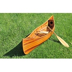 Canoe With Ribs Curved Bow Matte Finish 10 Feet
