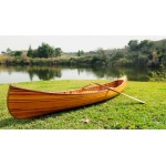 Canoe With Ribs Curved Bow 12 Feet