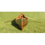 Canoe With Ribs Curved Bow Matte Finish 12 Feet
