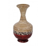 "Heather Ann Creations Cora 22"" Spun Bamboo Vase"