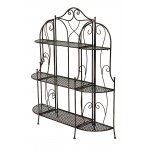 "Heather Ann Creations Alexander 48"" 3 Shelf Bakers Rack"
