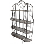 "Heather Ann Creations Alexander 63"" Standard 4 Shelf Bakers Rack"