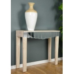 Heather Ann Creations Catherine 1-drawer Mirrored Console Table