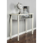 Heather Ann Creations Amelia 1-drawer Mirrored Console Table