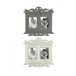 Benzara Adorable And Lovely Wooden Wall Photo Frame 2 Assorted