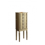 ACME Furniture Acme Tammy Jewelry Armoire, Gold