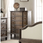 ACME Furniture Acme Baudouin Chest, Weathered Oak