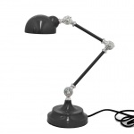 Benzara Alluring Table Lamp ,black