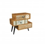 The Urban Port Antiqued 3 Drawer Mixen By Urban Port