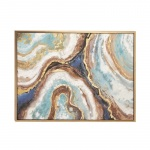Benzara Abstract Multi-color Canvas Wall Art