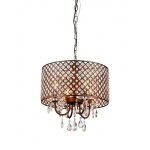 Warehouse of Tiffanys Alexia Antique Bronze Chandelier