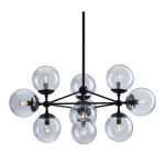 HomeRoots Lighting Belfast Ceiling Lamp Black