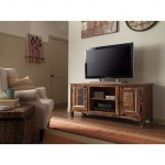 Benzara Accent Cabinets Reclaimed Wood Tv Stand, Brown