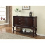 Benzara Aesthetically Designed Commodious Side Board, Brown