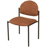 "KFI 1310 ""1300"" Series Stack Chair with Grade 1 Fabric: 1 1/2"" Seat, Without Arms"