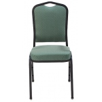 "KFI ""1830"" Series Stack Chair with Grade 1 Fabric: 3"" Seat, Without Arms"